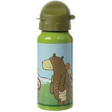 sigikid Alu-Trinkflasche Forest Grizzly, 400 ml grün Junge