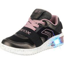 GEOX Sneakers puder / schwarz