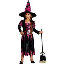Kostüm Hexe Aniha schwarz-pink