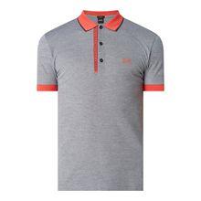Regular Fit Poloshirt im zweifarbigen Design Modell 'Paule 4'