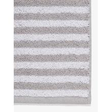 TOM TAILOR Handtuch silber / weiß