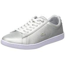 Lacoste Damen Carnaby Evo 118 1 SPW Sneaker, Grau (Lt Gry/WHT), 40 EU