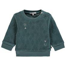 Sweatshirt  grün Jungen Baby