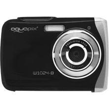easypix Unterwasser Digitalkamera Aquapix W1024 Splash, schwarz
