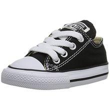 Converse Chuck Taylor All Star Core Ox 015810-21-8, Unisex - Kinder Sneaker, Schwarz (Noir), EU 20