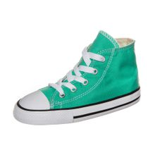 CONVERSE Chuck Taylor All Star 'Fresh Colors High' Sneaker Kleinkinder jade