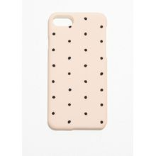 Dotted iPhone Case - Orange
