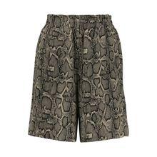 Kurze Paperbag Shorts
