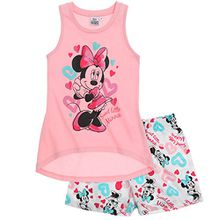Disney Minnie Mädchen Shorty-Pyjama - rosa - 134