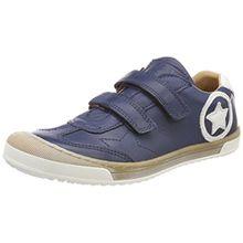 Bisgaard Unisex-Kinder Klettschuhe Sneaker, Blau (Navy), 32 EU