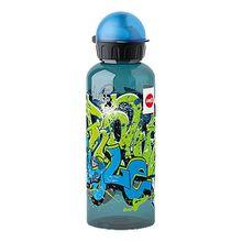 Trinkflasche KIDS TRITAN Graffiti, 600 ml blau/grün
