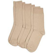 Camano Unisex - Erwachsene Socken 3403 CA-SOFT 3er Pack, Gr. 43/46 (Herstellergröße: 43/46), Beige (sand 18)