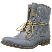 Mustang Damen 1157-503-875 Combat Boots, Blau (875 Sky), 39 EU