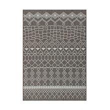 Kayoom MUSTER BEIGE TEPPICHE OUTDOOR AZTEKEN DESIGN TEPPICH ELFENBEIN, Größe:160cm x 230cm