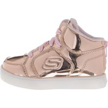 SKECHERS Sneakers mit LED-Sohle rosegold