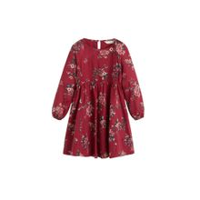MANGO KIDS Kleid 'Rose' mischfarben / himbeer