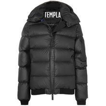 TEMPLA - Membra Daunenjacke Aus Gestepptem Shell Mit Kapuze - Schwarz