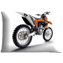 Reißverschluss Polyester Baumwolle Motocross Easy Care Überwurf Kissenbezug Fällen Gesundheit 40,6x 61cm 40x 60cm