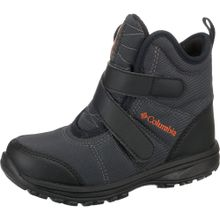 COLUMBIA Winterstiefel 'FAIRBANKS' dunkelgrau / orange