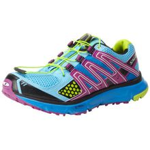 Salomon XR Mission L32703500, Damen Sportive Sneakers, Blau (Scoblu/Verypurple/Pop Green), EU 38 2/3 (UK 5.5)