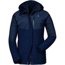 Schöffel Jacke 3in1 Jacket Kashgar Outdoorjacken blau Damen
