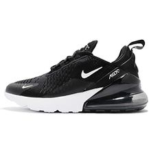 Nike Air Max 270 Flyknit Women Sneaker Trainer (8.5 B(M) US, Black/White)