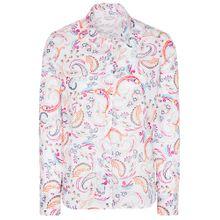 ETERNA Bluse mischfarben / weiß