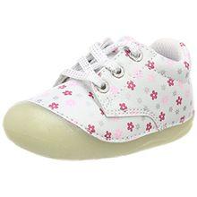 Lurchi Unisex-Kinder Flo Stiefel, Weiß (White), 18 EU