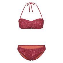CHIEMSEE Bandeau Bikini im aufregenden Design rot-kombi Damen