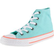 CONVERSE Sneakers 'Chuck Taylor All Star' türkis / lachs / weiß