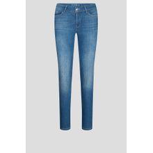 Skinny Jeans mit Bindegürtel