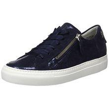Paul Green Damen Cracked Met/Sz Saphir/Blau Sneaker, Mehrfarbig (Saphir/Blau 12), 38.5 EU