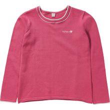 ESPRIT Pullover pink / weiß