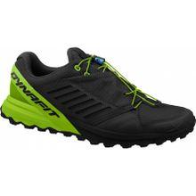 Dynafit - Alpine Pro Herren Mountain Running Schuh (schwarz/grün) - EU 42 - UK 8