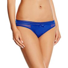 Triumph Damen Slip Beauty - Full Idol Tai, Gr. 46, Blau (BLUE STORM BL)