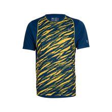 TAO Sportswear Atmungsaktives Herren Funktions T-Shirt mit Print WICKING SHIRT T-Shirts gelb Herren
