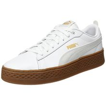 Puma Damen Smash Platform L Sneaker, Weiß White White 02, 42 EU