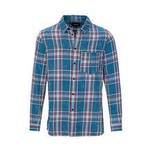 tigha Herren Hemden Laurent mehrfarbig (dusty ocean blue/white)