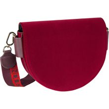 Liebeskind Berlin Gürteltasche MixeDbag Velvet Saddle Bag M Royale Plum