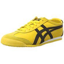 Onitsuka Tiger Mexico 66, Unisex-Erwachsene Low-Top Sneaker, Mehrfarbig (Yellow/Black), 36 EU