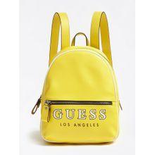 GUESS Rucksack gelb / schwarz / weiß
