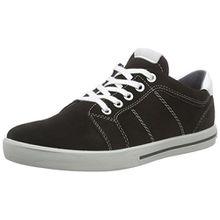 Ricosta Roy, Jungen Sneakers, Schwarz (Schwarz 095), 38 EU (5 Kinder UK)