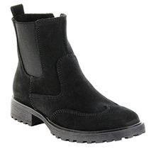 Richter Kinder Winter Stiefeletten Black Leder Mädchen Boots Schuh 4842-621-9900 Lena, Farbe:Schwarz, Größe:36
