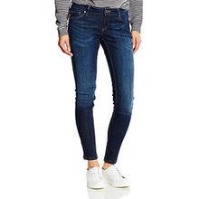 Cross Jeans Damen Skinny Jeanshose Giselle, Gr. W26, Blau (ocean blue used 007)