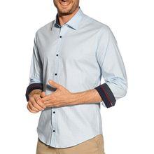 Rusty Neal Hemd Slim Fit in blau für Herren