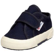 Superga 2750 Bvel, Unisex Kinder Sneakers, Blau/933 Navy, 24 EU