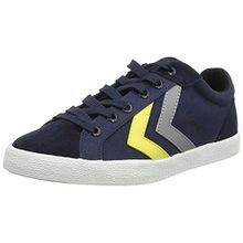 Hummel Deuce Court Summer, Unisex-Erwachsene Sneakers, Blau (Total Eclipse 7364), 41 EU