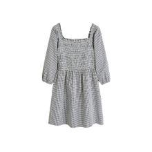 MANGO Kleid 'Audrey-H' schwarz / weiß