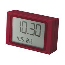 Slide Clock Wecker bordeaux