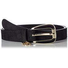 Armani Jeans Damen Gürtel Tongue Belt, Schwarz (Nero 00020), (Herstellergröße: IV)